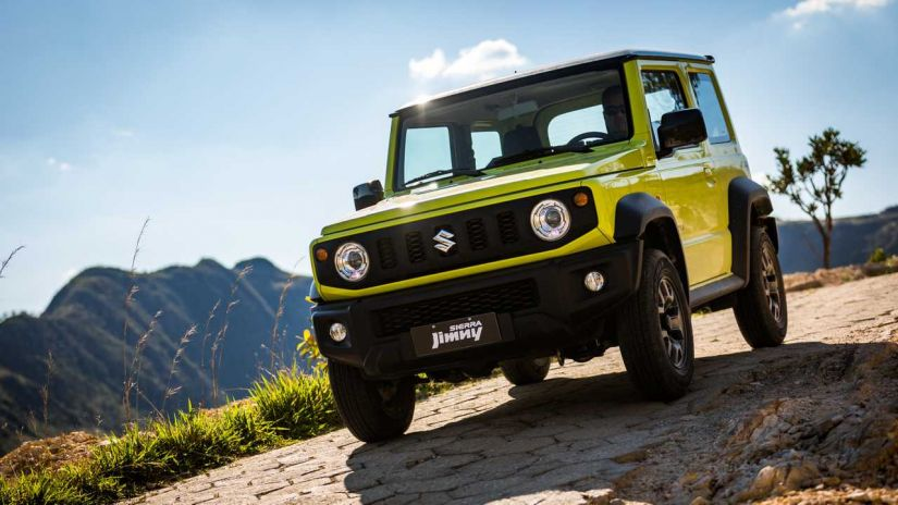 Suzuki confirma novo Jimmy Sierra no Brasil partindo de R$ 103.990.