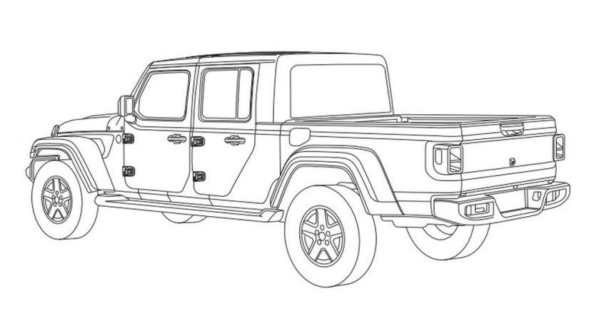 Jeep Gladiator é registrado no Brasil