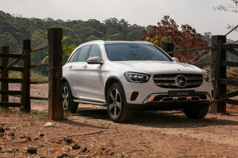 Mercedes-Benz começa a vender GLC com visual atualizado e motor diesel