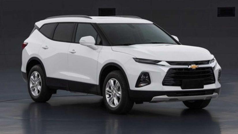 Chevrolet lança teaser de Blazer com 7 lugares