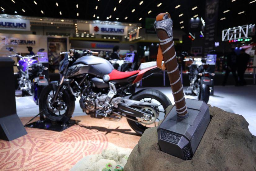 Yamaha anuncia parceria com Marvel e motos inspiradas em heróis - Foto 1