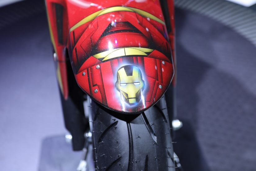 Yamaha anuncia parceria com Marvel e motos inspiradas em heróis - Foto 2