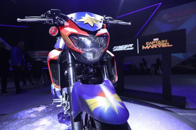 Yamaha anuncia parceria com Marvel e motos inspiradas em heróis - Foto 4