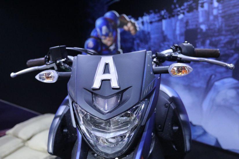 Yamaha anuncia parceria com Marvel e motos inspiradas em heróis - Foto 5