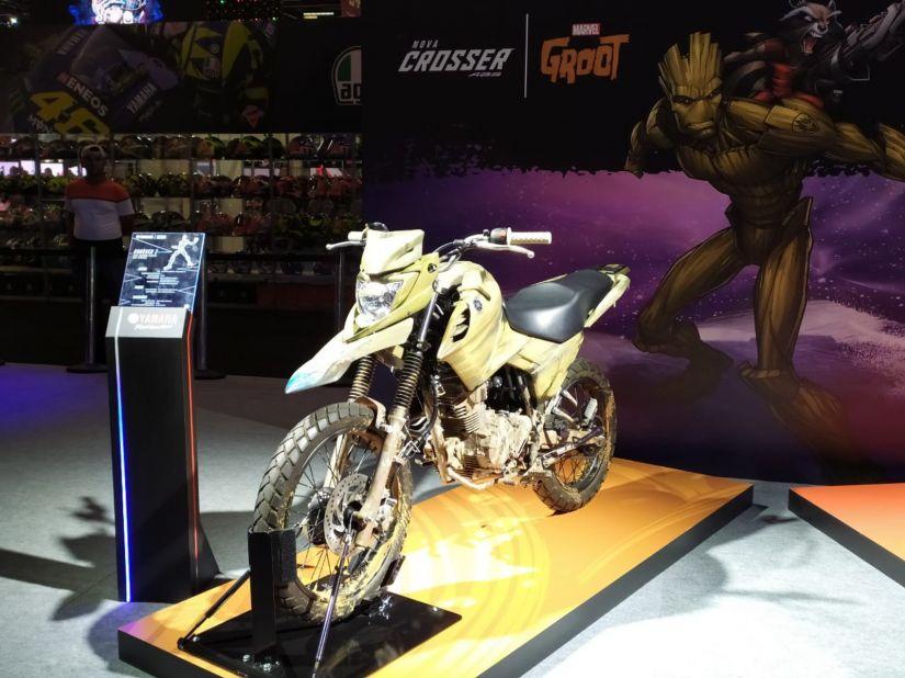 Yamaha anuncia parceria com Marvel e motos inspiradas em heróis - Foto 7