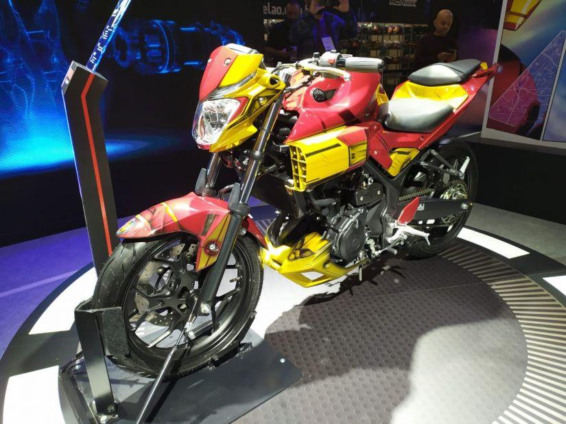 Yamaha anuncia parceria com Marvel e motos inspiradas em heróis - Foto 8