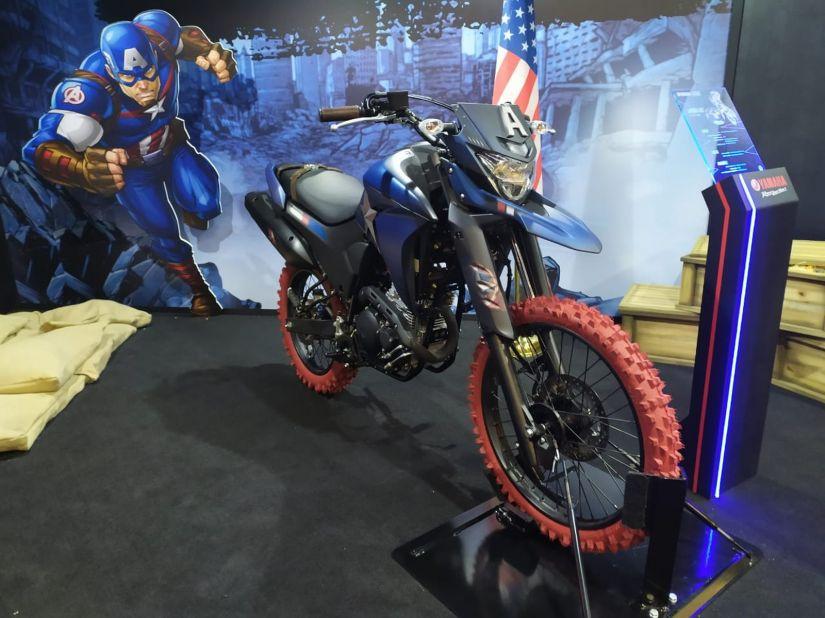 Yamaha anuncia parceria com Marvel e motos inspiradas em heróis - Foto 9