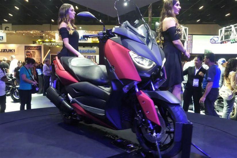 Yamaha apresenta scooter futurista para mercado brasileiro