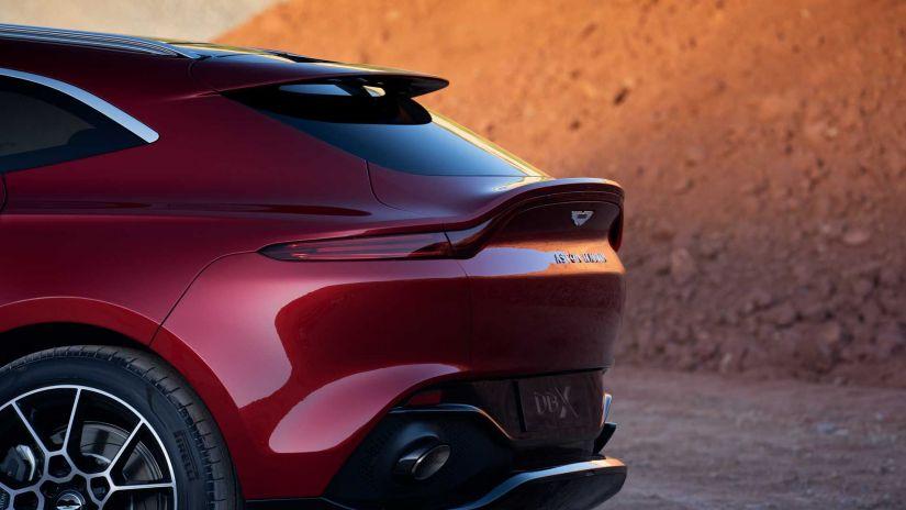 Aston Matin apresenta seu primeiro SUV - Foto 7