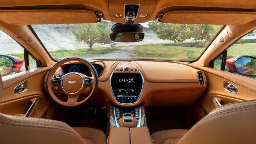 Aston Matin apresenta seu primeiro SUV - Foto 9