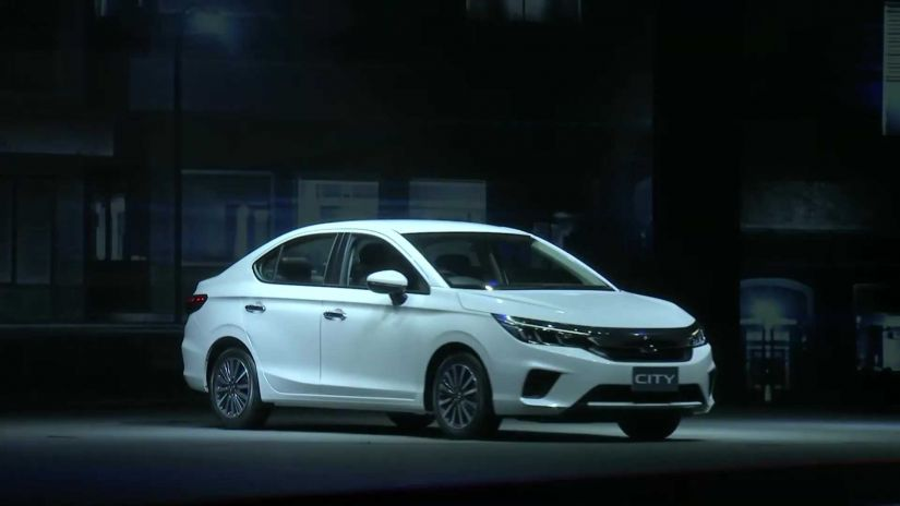 Honda City apresenta nova geração do carro com motor 1.0 turbo de 3 cilindros - Foto 1
