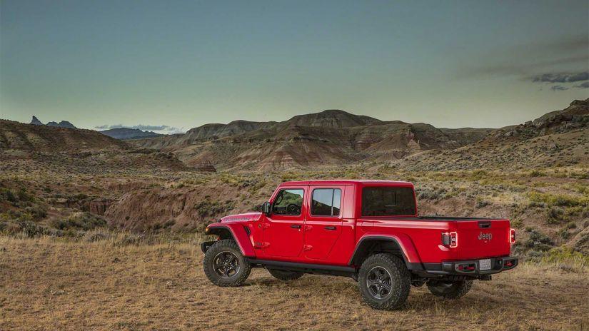 Jeep vai lançar picape Gladiator no Brasil a partir do 2º semestre de 2020 - Foto 4