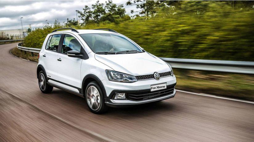 Volkswagen deve remover Up! e Fox de linha no Brasil