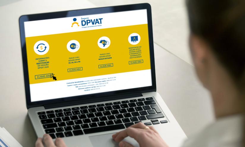 Site para restituição do Dpvat começa a funcionar