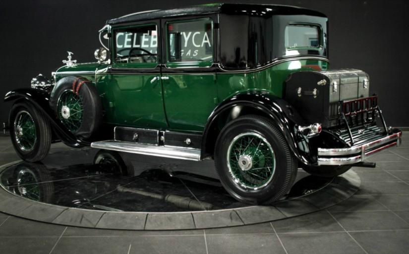 Cadillac blindado de Al Capone é avaliado em US$ 1 milhão