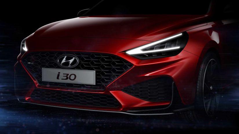 Hyundai apresenta teaser do facelift do i30