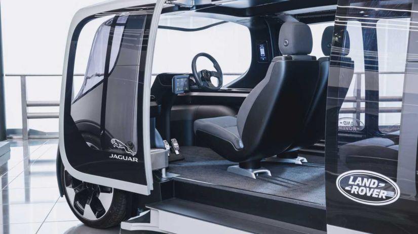 Jaguar Land Rover lança veículo autônomo 100% elétrico - Foto 1
