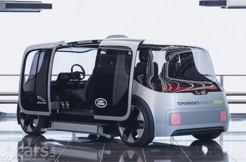 Jaguar Land Rover lança veículo autônomo 100% elétrico - Foto 2
