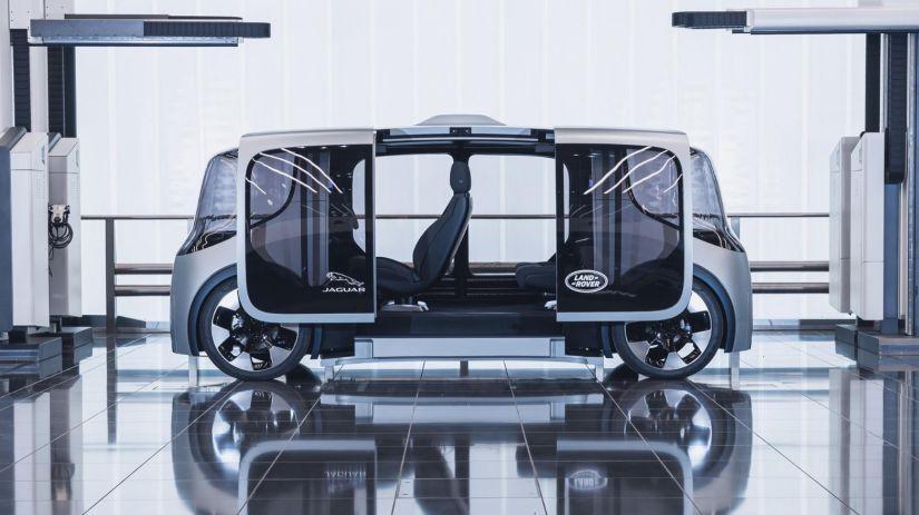 Jaguar Land Rover lança veículo autônomo 100% elétrico - Foto 3