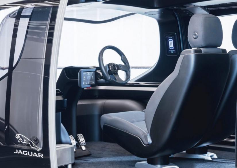 Jaguar Land Rover lança veículo autônomo 100% elétrico - Foto 4
