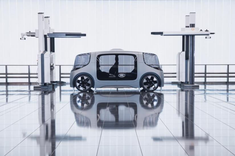 Jaguar Land Rover lança veículo autônomo 100% elétrico - Foto 5