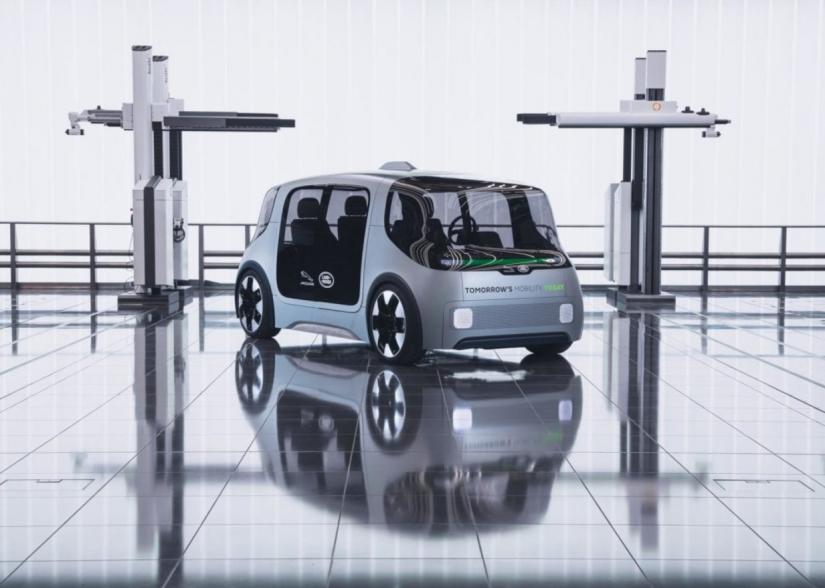 Jaguar Land Rover lança veículo autônomo 100% elétrico - Foto 6