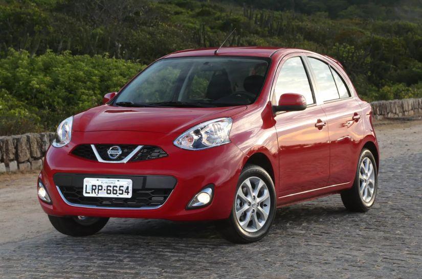 Nissan March passa a ter apenas 3 versões