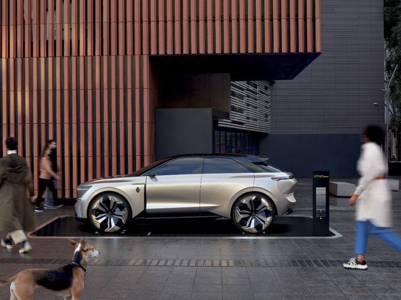 """Renault apresenta modelo futurista """"transformer"""" Morphoz - Foto 3"""