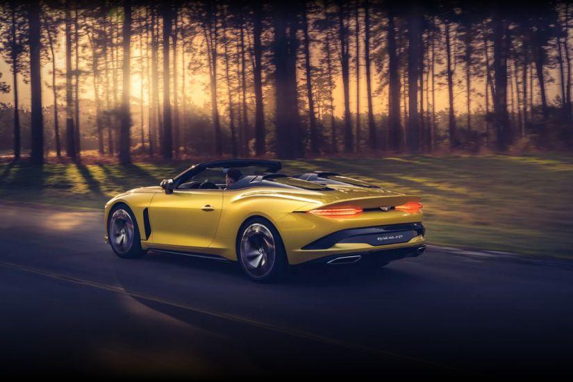 Bentley lança conversível com produção limitada custando R$ 8,6 milhões - Foto 1