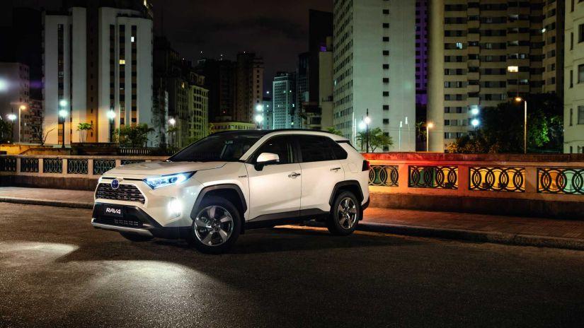 Toyota RAV4 2020 chaga ao Brasil partindo de R$ 194 mil - Foto 5