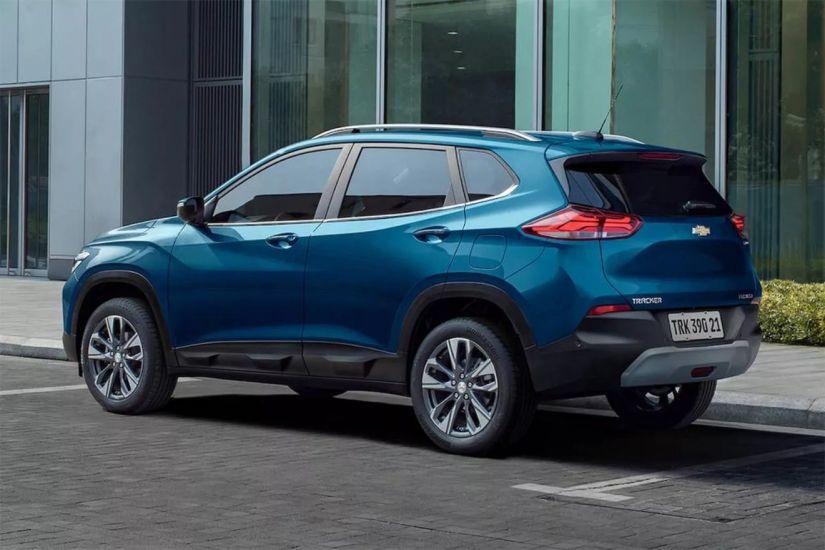 Chevrolet divulga preços do novo Tracker