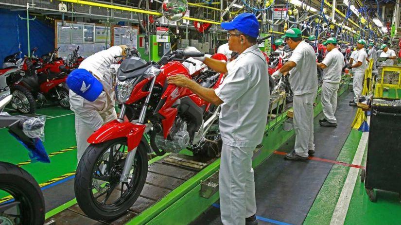 Honda celebra 25 milhões de produzidas no Brasil