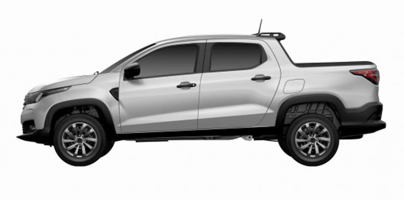 Registros revelam todas as versões da nova Fiat Strada - Foto 1