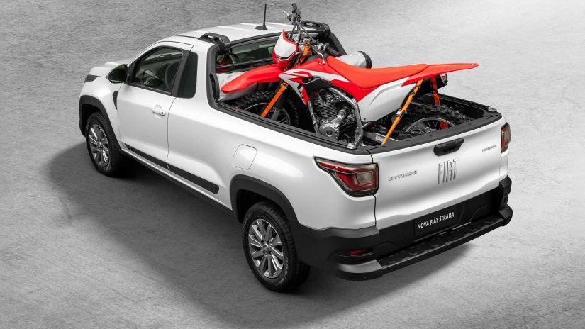 Fiat revela visual e detalhes da nova Strada 2021 - Foto 1