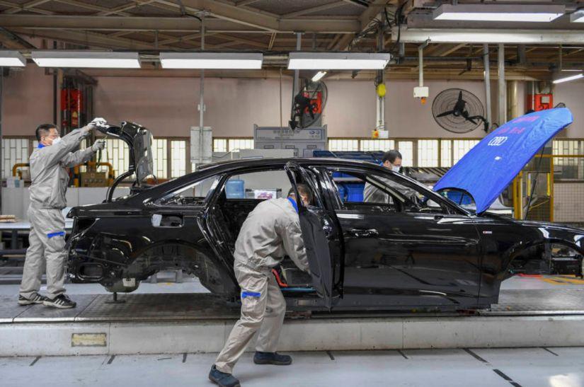 Venda de carros na China dispara no período pós-crise