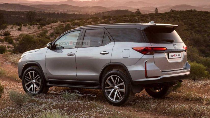 Site faz projeção de como pode ficar nova Toyota SW4 2021
