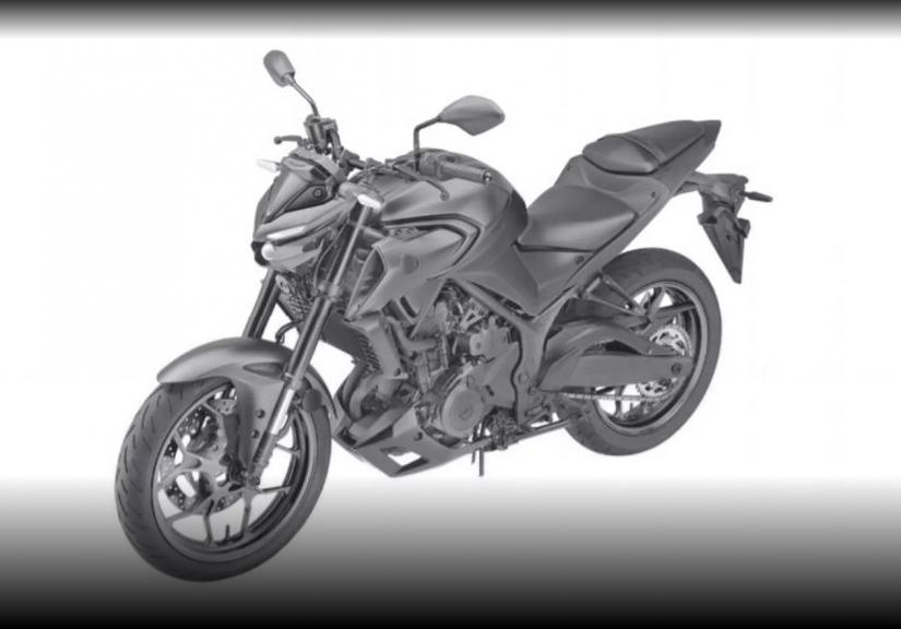 Yamaha registra moto MT-03 no Brasil