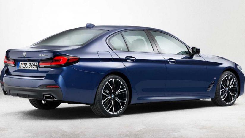 Vazam imagens do novo BMW Série 5 2021