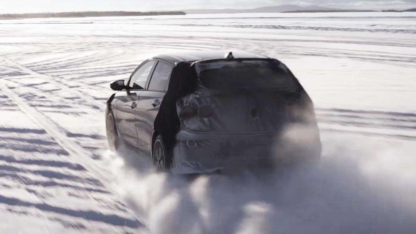 Hyundai i20 N aparece no primeiro teaser oficial - Foto 2
