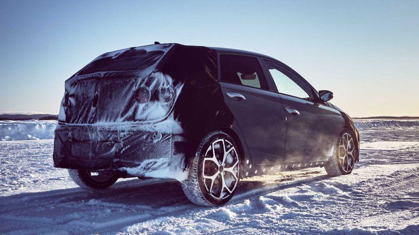 Hyundai i20 N aparece no primeiro teaser oficial - Foto 4
