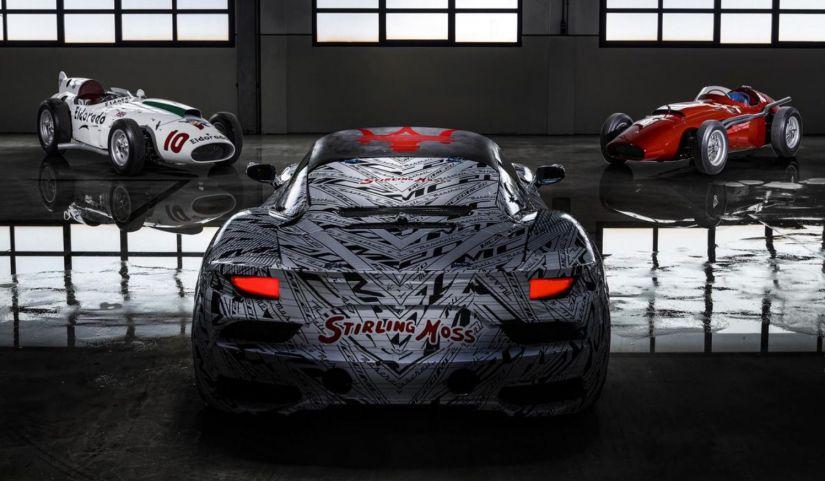 Maserati mostra protótipo em homenagem a Stirling Moss