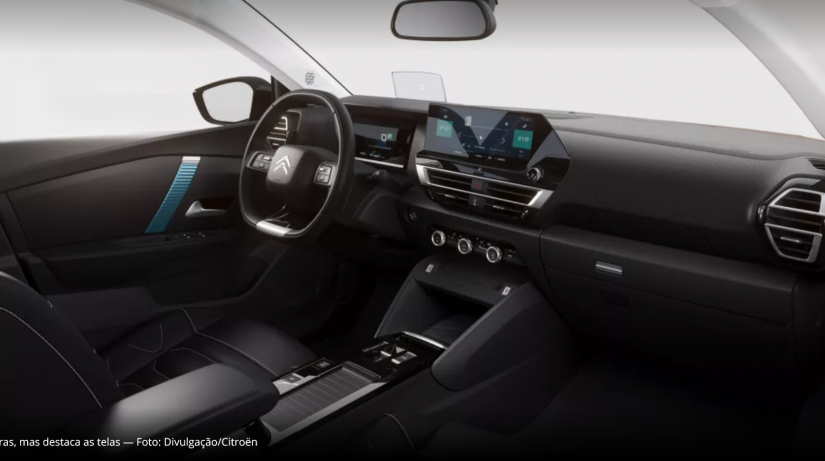 Citroën divulga novo visual para o C4