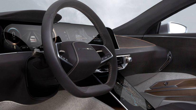 Sedan elétrico de luxo terá sistema com recarga mais rápida do mundo