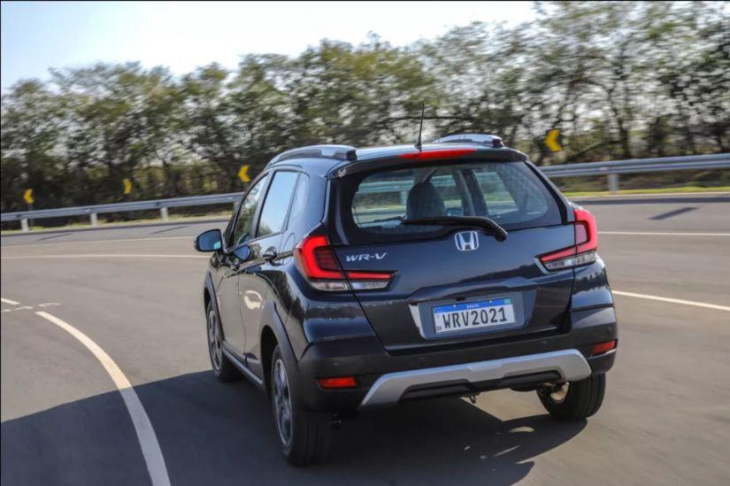 Honda apresenta nova versão de entrada do WR-V 2021