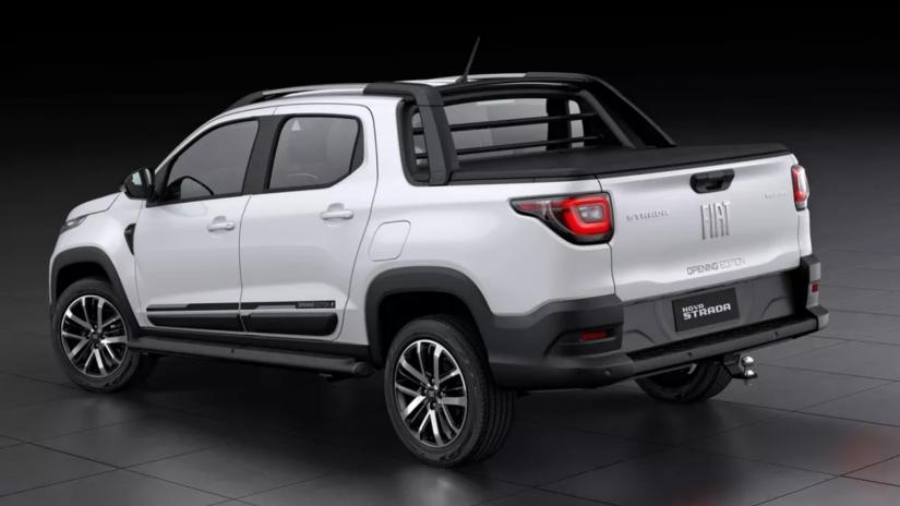 Fiat Strada terá série limitada Opening Edition