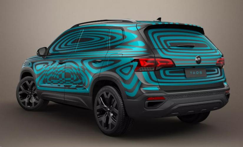 Volkswagen revela primeiras imagens do Taos