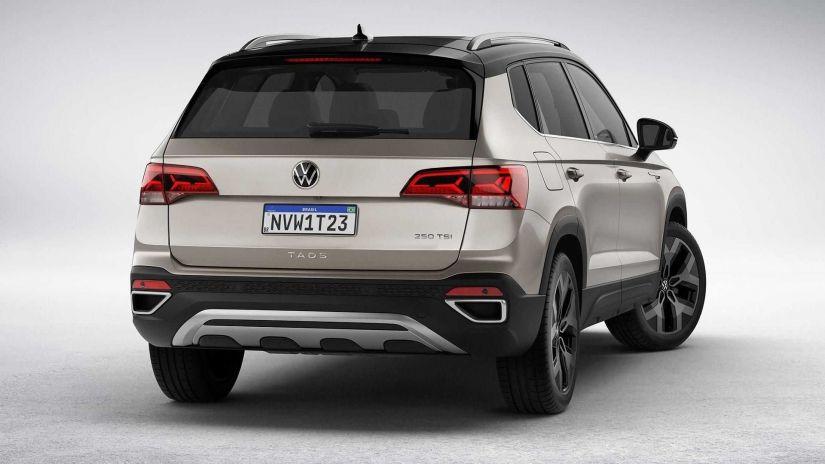 Volkswagen divulga todos os detalhes do novo SUV Taos  - Foto 1