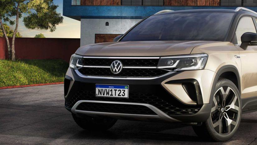 Volkswagen divulga todos os detalhes do novo SUV Taos  - Foto 5