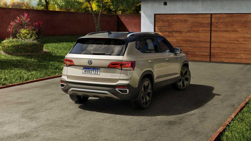 Volkswagen divulga todos os detalhes do novo SUV Taos  - Foto 7