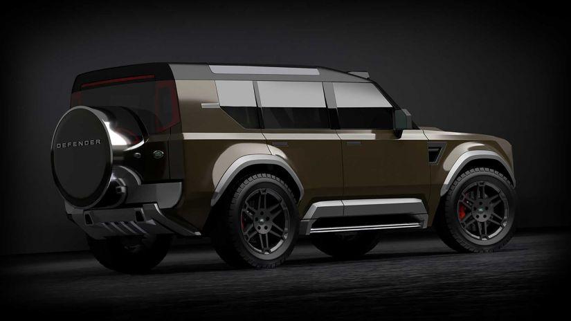 Land Rover lançará novo modelo de SUV de entrada inspirado no Defender
